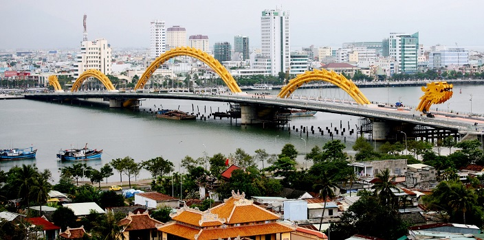Dragon Bridge, Vietnam